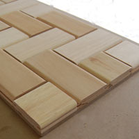 Coffee table from offcuts