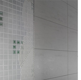 Home dzine bathrooms cover up an existing tiled wall or backsplash - Can i paint over bathroom tiles ...