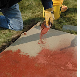 how to colour or tint cement and concrete - Ciment Color