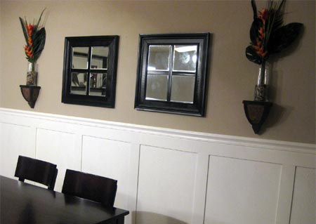 home dzine home diy add wall panels to a dining room