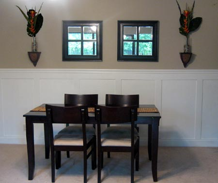 Add Wall Panels To A Dining Room