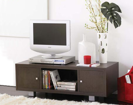 home dzine home diy how to make a tv stand. Black Bedroom Furniture Sets. Home Design Ideas