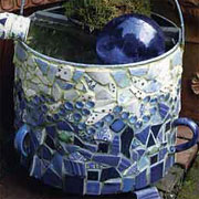 Mosaic projects for the garden