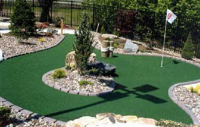 Putting Greenini Golf In Your Garden