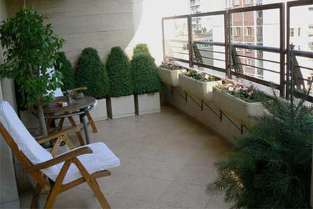 Home dzine garden how to decorate a balcony - Flowers for apartment balcony ...