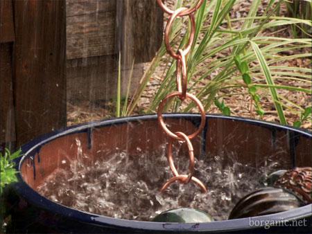 Home Dzine Garden How To Make A Rain Chain