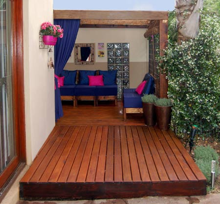Home dzine garden how to build a deck build a do it yourself diy deck in a day solutioingenieria Gallery