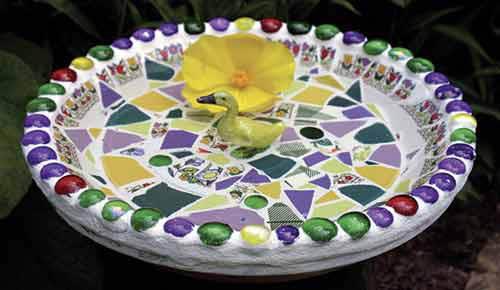 Home Dzine Craft Ideas Mosaic Garden Art