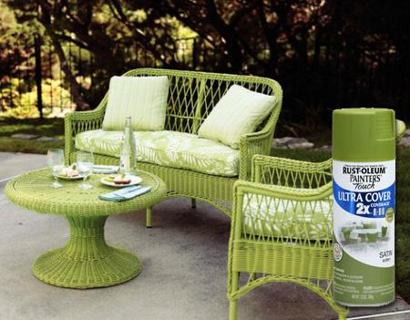 Genial Restore Paint Wicker Furniture Rust Oleum