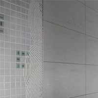 Tile over an existing tiled wall