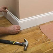 Remove and replace skirtings
