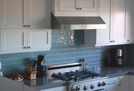 Mosaic Tile Board For Kitchen Splashback