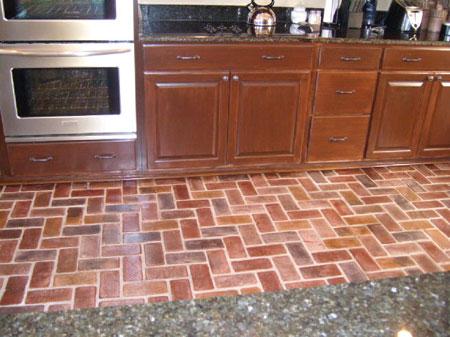 Home Dzine Home Improvement Lay A Natural Brick Floor