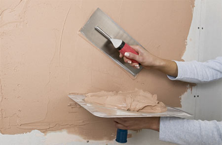 HOME DZINE Home DIY How to apply plaster to walls