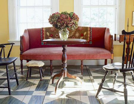 Plywood floors. HOME DZINE Home Improvement   Plywood floors