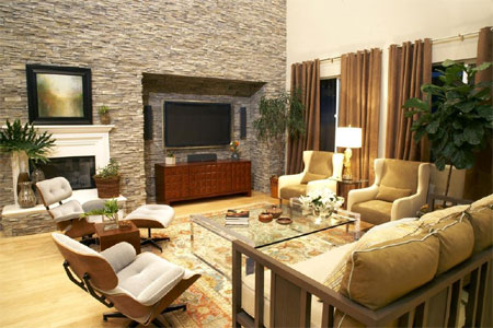home dzine home improvement adding natural elements to walls