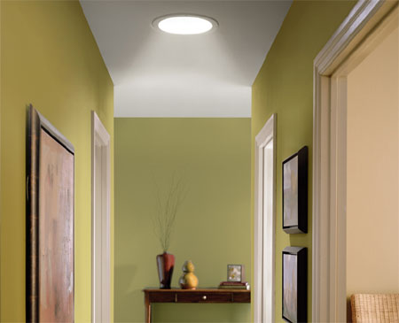 Round skylights for homes