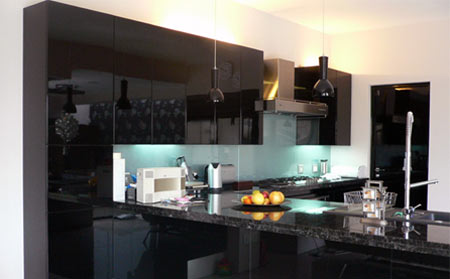 Kitchen Tiles Johannesburg home dzine kitchen | add a glass splashback to your kitchen