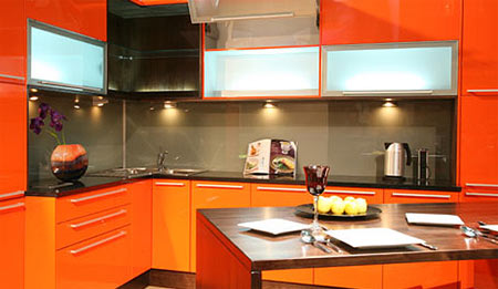 HOME DZINE Kitchen | Add a glass splashback to your kitchen