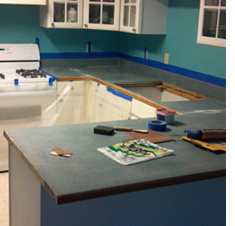 Rustoleum Countertop Paint Application : How easy is it to apply Rust-Oleum Countertop Coating?