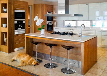 Home dzine kitchen 2010 kitchen trends for Kitchen designs south africa