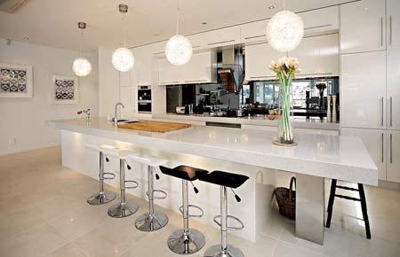 HOME DZINE Kitchen  The kitchen island makes a comeback