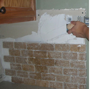 Home Dzine Home Improvement Cover Up Existing Tiled Wall Or Backsplash