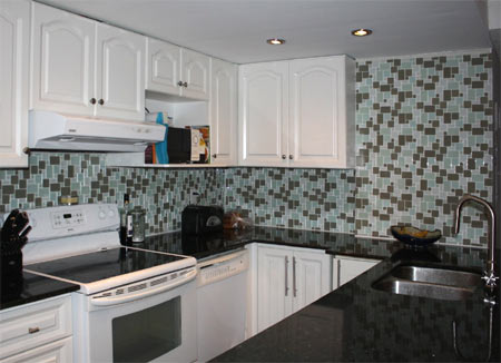 Home Dzine Kitchen Transform A Kitchen With Mosaic Tile