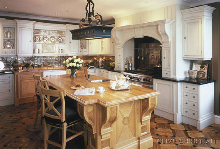 French Country Or Traditional Style Kitchen