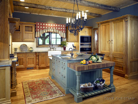 Dark Modern Country Kitchen Home Dzine Kitchen  French Country Or Traditional Style Kitchen