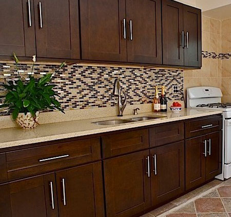 HOME DZINE Kitchen | Replace kitchen cabinet doors