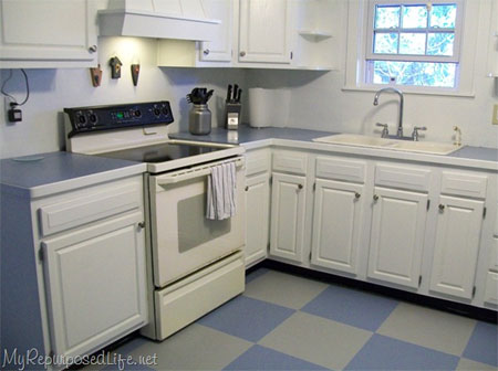 Home Dzine Kitchen How To Paint Kitchen Cabinets