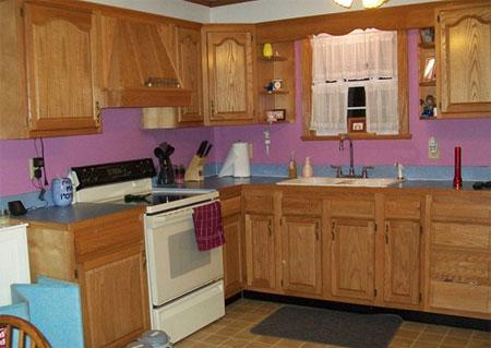 Brilliant Home Dzine Kitchen Paint Oak Kitchen Cabinets Download Free Architecture Designs Ferenbritishbridgeorg