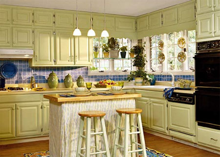 Painting Kitchen Cabinets | Myperfectcolor.com
