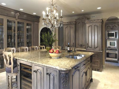 Home dzine kitchen paint or re face kitchen cabinets - Elegant italian style kitchen cabinets with timeless charm ...