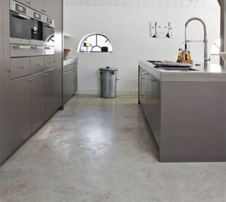 Home Dzine Kitchen Self Levelling Cement Screed Floor