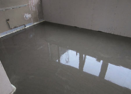 bathroom floor screed mix home dzine kitchen self levelling cement screed floor 15895