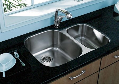 HOME DZINE Kitchen | Install a new kitchen sink