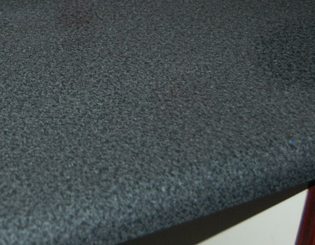 how to get rid of rust on melamine