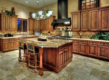 Perfect Waxing Kitchen Cabinets Gallery - Interior Design Ideas ...